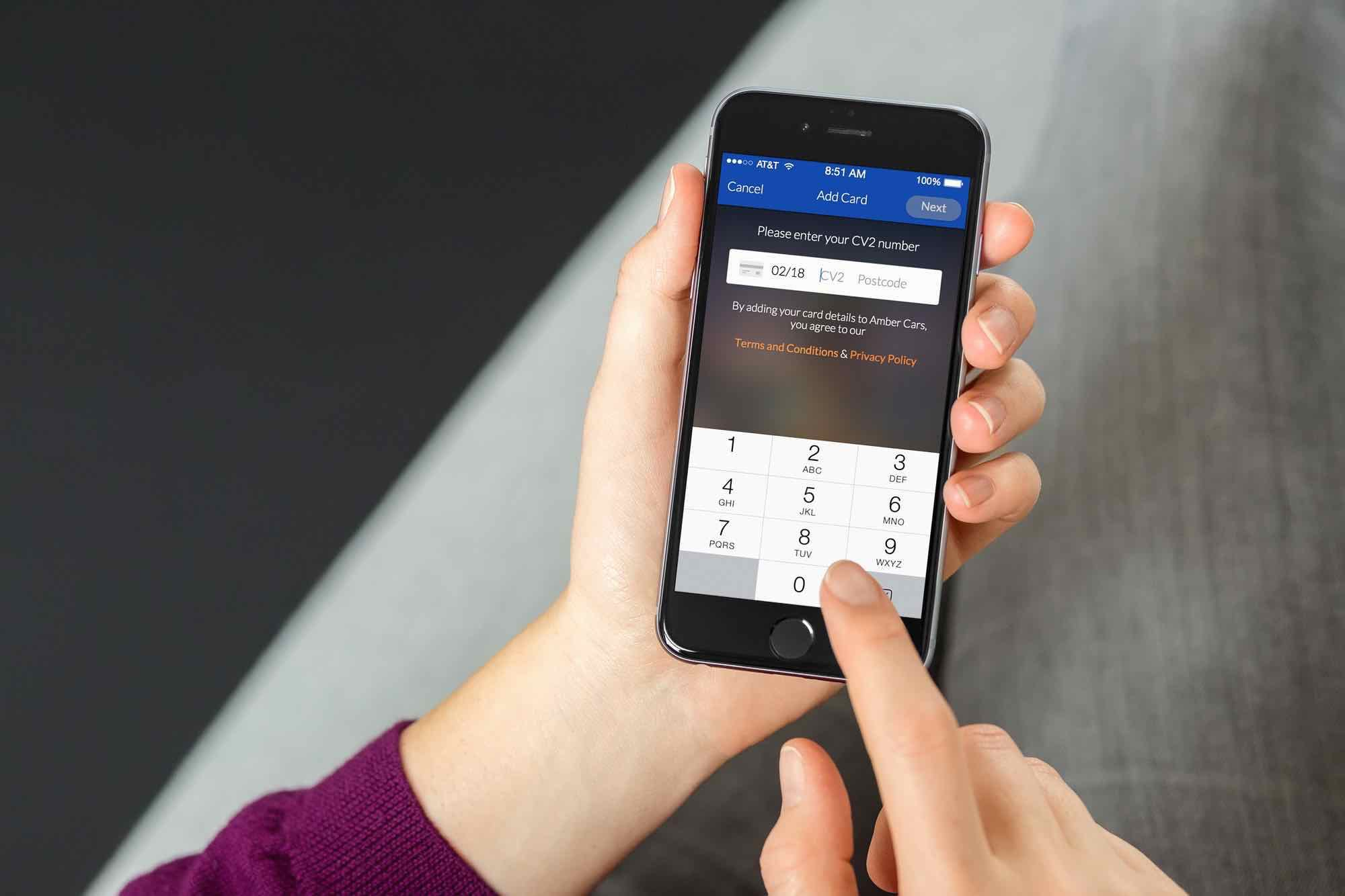 how to add credit card in citibank app