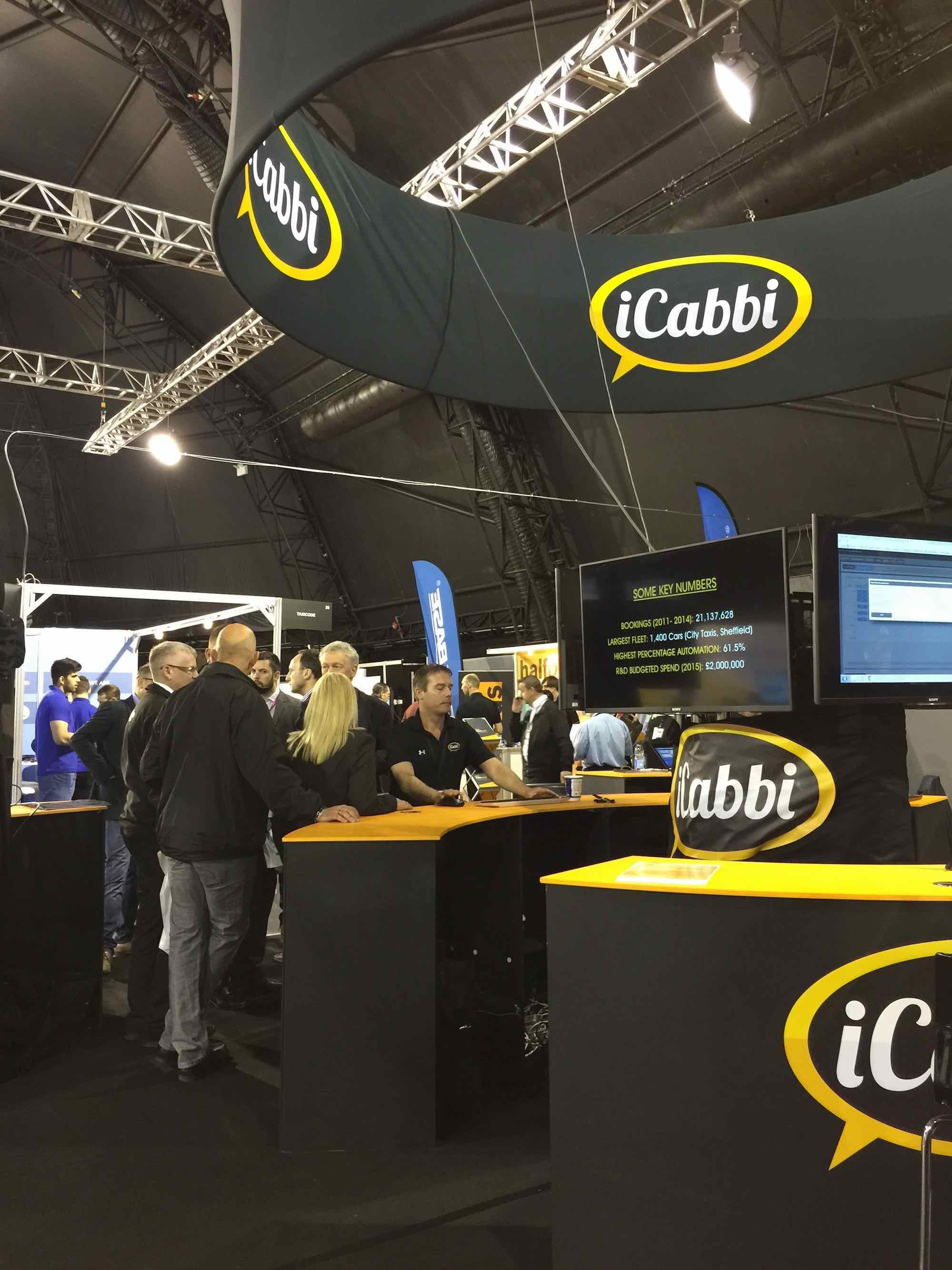 iCabbi picture at exhibition